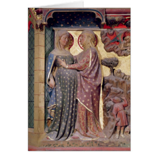 The Visitation, 1340-51 Card