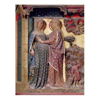 The Visitation, 1340-51 Postcard