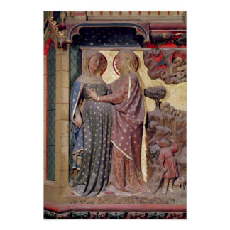The Visitation, 1340-51 Poster