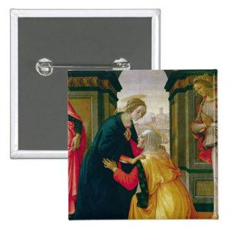 The Visitation, 1491 Pinback Button