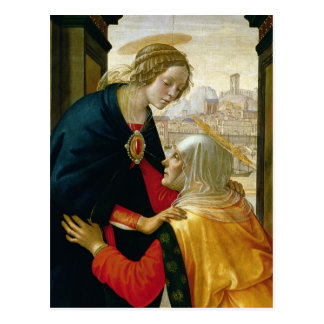 The Visitation, 1491 Postcard