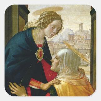 The Visitation, 1491 Square Sticker