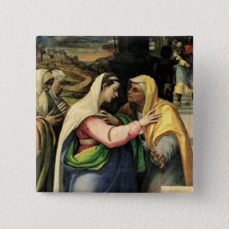The Visitation, 1519 Pinback Button