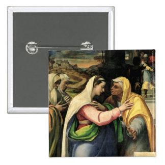 The Visitation, 1519 Pinback Button