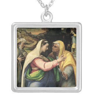 The Visitation, 1519 Silver Plated Necklace