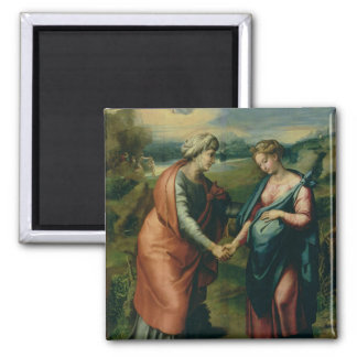 The Visitation 2 Inch Square Magnet