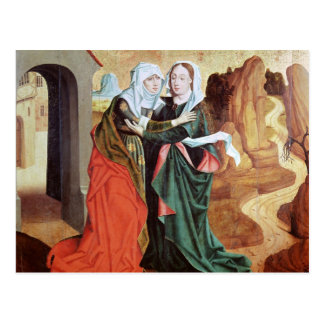 The Visitation, c.1460 Post Card