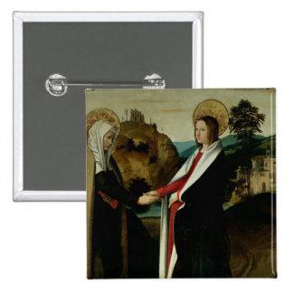 The Visitation, c.1500 Button