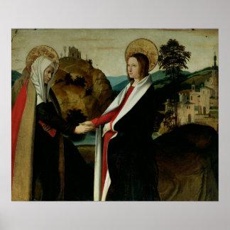 The Visitation, c.1500 Poster