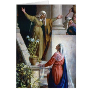THE VISITATION. CARD