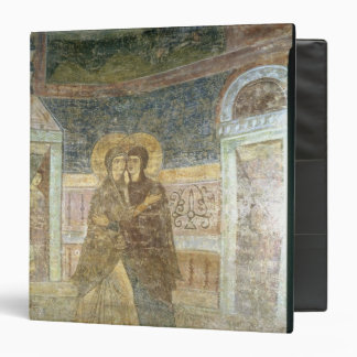 The Visitation, detail from the chapel interior 3 Ring Binder