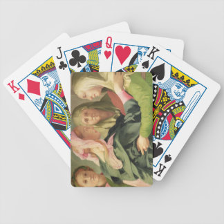 The Visitation (detail of 60438) Bicycle Playing Cards
