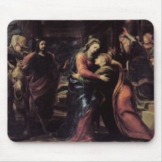 The Visitation Mouse Pad