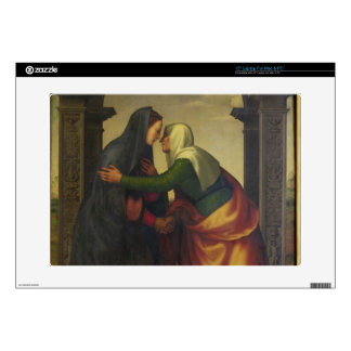 "The Visitation of St. Elizabeth to the Virgin Mary Decal For 15"" Laptop"