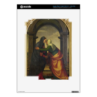 The Visitation of St. Elizabeth to the Virgin Mary iPad 3 Decal