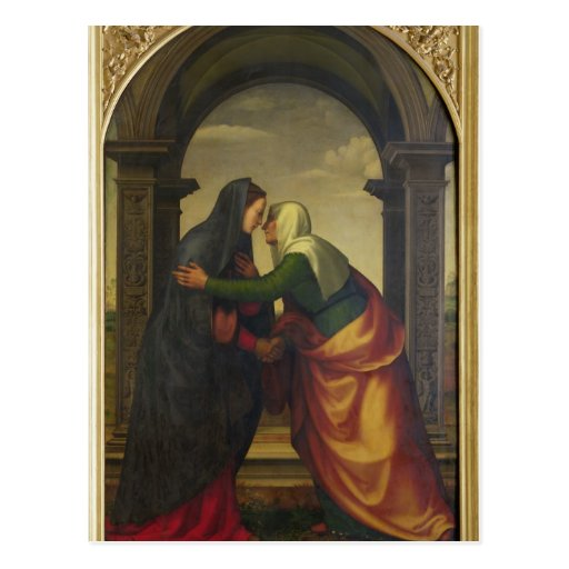The Visitation of St. Elizabeth to the Virgin Mary Post Cards