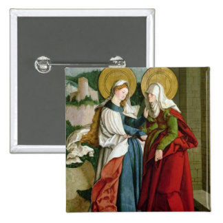 The Visitation (oil on panel) Button