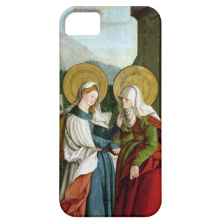 The Visitation (oil on panel) iPhone SE/5/5s Case