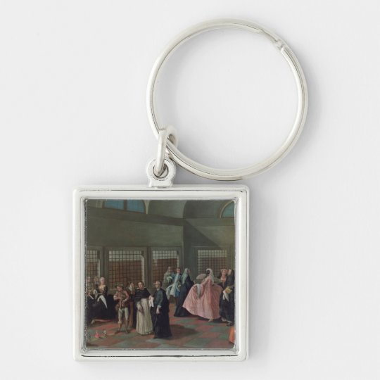 The Visiting Parlour in the Convent Keychain