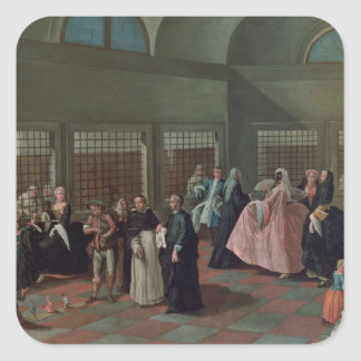 The Visiting Parlour in the Convent Stickers