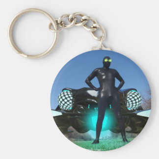 The Visitor 2 Keychain