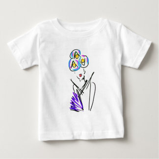 The Visitor Fashion Illustration Baby T-Shirt
