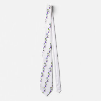The Visitor Fashion Illustration Tie