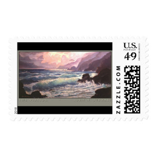 The Visitor Postage Stamp