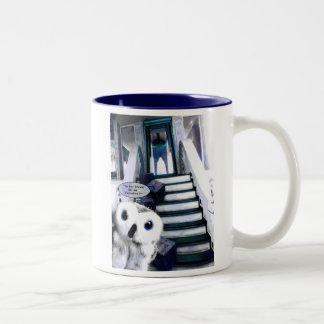 The Visitor Two-Tone Coffee Mug
