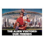 "The Visitors Our Friends 36"" x 24"" Poster"