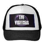 The Visitors purple moon hat