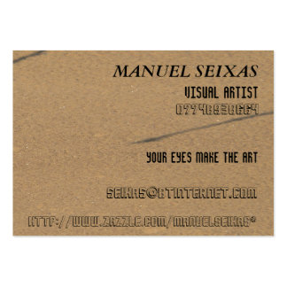 The Visual Artist Large Business Card
