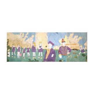 The Vivian Girls 6 Canvas Print