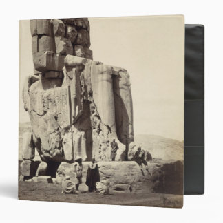 The 'Vocal Memnon', Colossal Statue of Amenhotep I 3 Ring Binder
