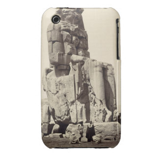The 'Vocal Memnon', Colossal Statue of Amenhotep I iPhone 3 Covers