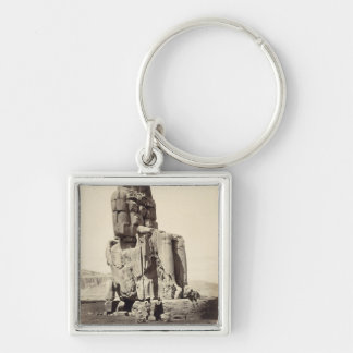The 'Vocal Memnon', Colossal Statue of Amenhotep I Key Chains