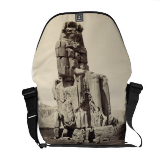 The 'Vocal Memnon', Colossal Statue of Amenhotep I Courier Bag