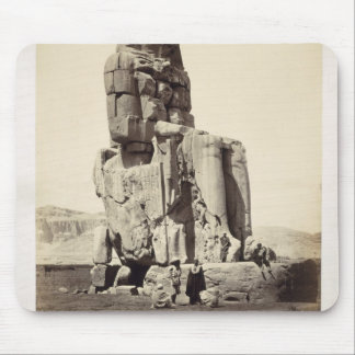 The 'Vocal Memnon', Colossal Statue of Amenhotep I Mouse Pad