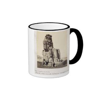 The 'Vocal Memnon', Colossal Statue of Amenhotep I Coffee Mug