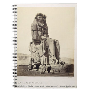 The 'Vocal Memnon', Colossal Statue of Amenhotep I Note Books