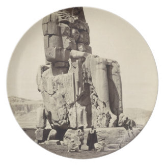 The 'Vocal Memnon', Colossal Statue of Amenhotep I Plates