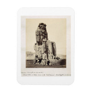 The 'Vocal Memnon', Colossal Statue of Amenhotep I Flexible Magnets