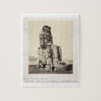 The 'Vocal Memnon', Colossal Statue of Amenhotep I Jigsaw Puzzles