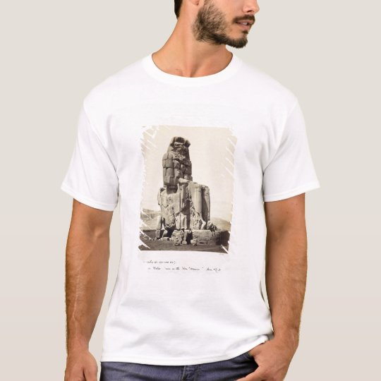 The 'Vocal Memnon', Colossal Statue of Amenhotep I T-Shirt