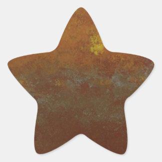 The Voice In the Wilderness Star Sticker
