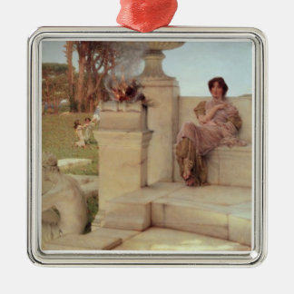 The Voice of Spring, 1908 (oil on panel) Christmas Ornament