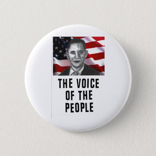 The Voice Of The People Button