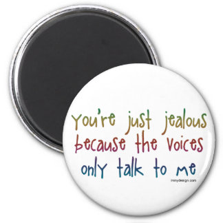 The Voices 2 Inch Round Magnet