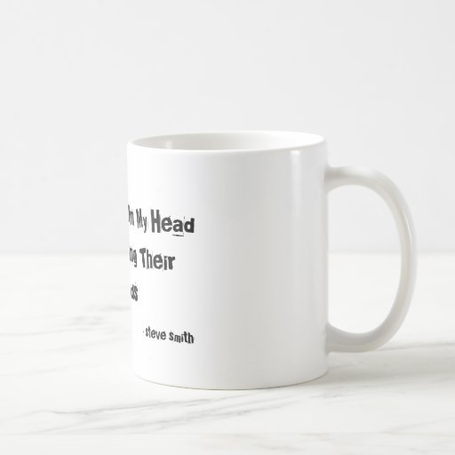 The Voices In My Head Are Slurring Their Words,... Coffee Mug