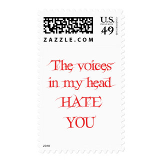 The Voices in my Head Postage